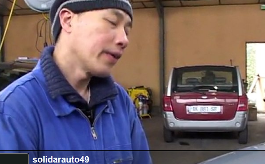 Le garage solidaire d'Angers – Solidarauto49