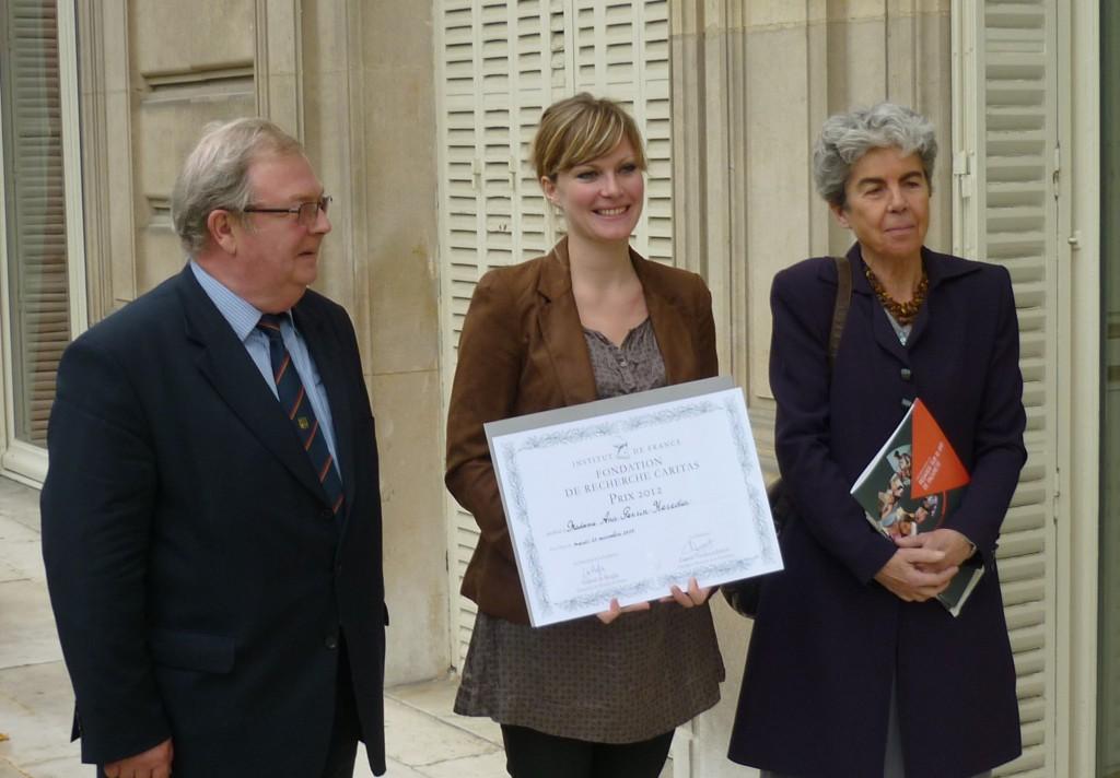#10ansdeGénérosité - 10 lauréats du Prix de Recherche Caritas - 2012 - Ana Perrin-Heredia