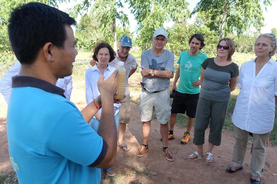Des fondations familiales en voyage d'étude au Cambodge