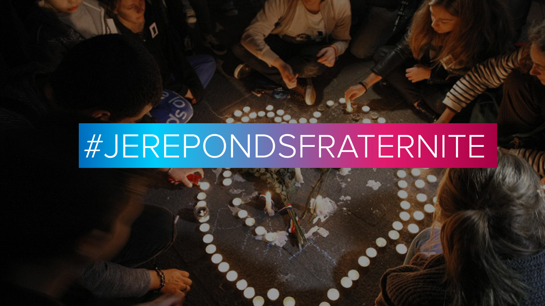 Attentats : #jerepondsfraternite