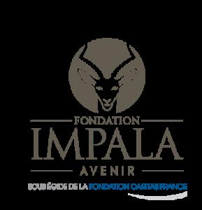logo impala caritas taupe