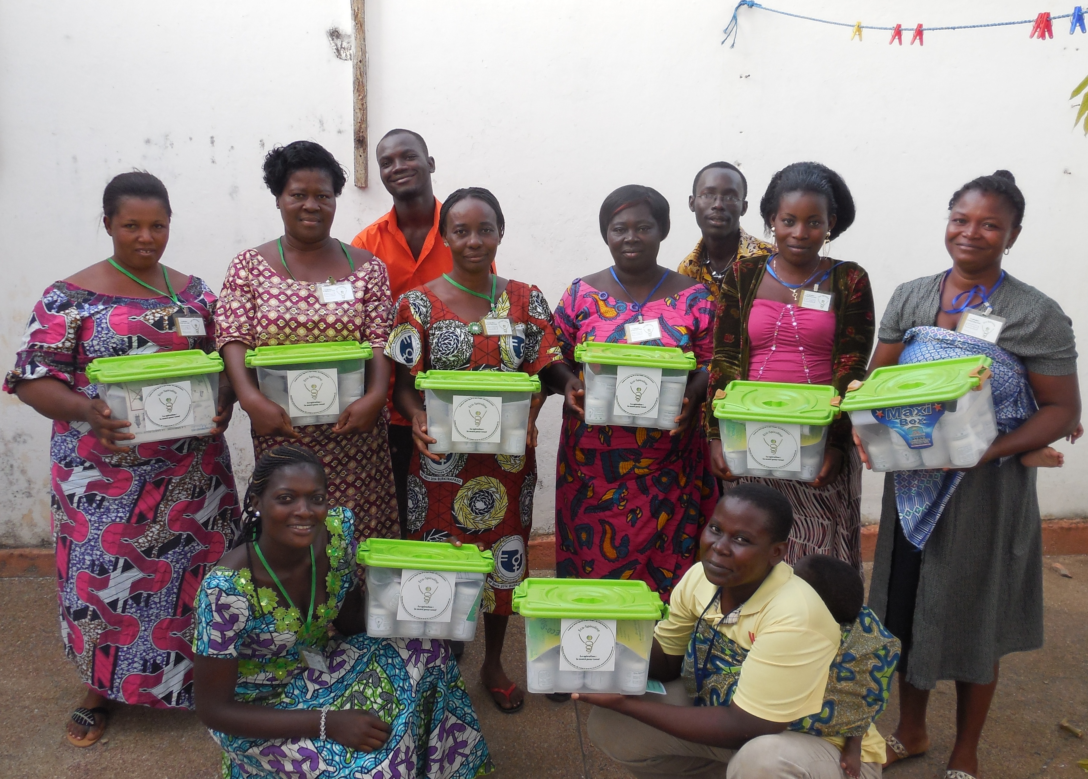 Togo : Entrepreneurs du Monde mise sur la spiruline