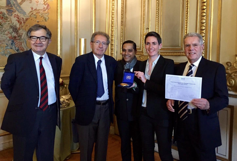 Le projet Charaibeti reçoit le prix des Droits de l'Homme
