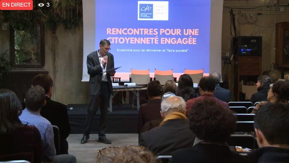 La Fondation Caritas France présente aux Rencontres pour une Citoyenneté Engagée