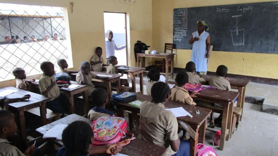 [Vos dons en action] A Brazzaville, une école très spéciale