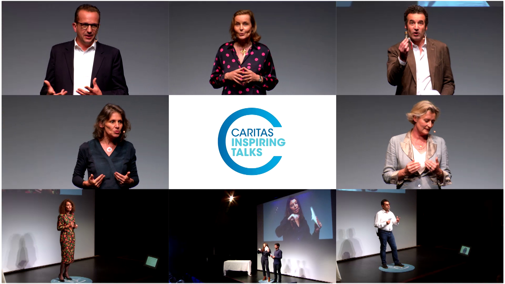 Caritas Inspiring Talks – Le « Best Of » des 10 ans de la Fondation Caritas France