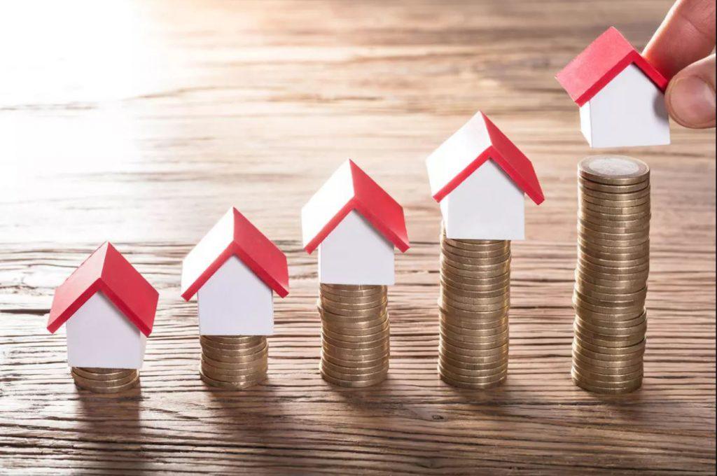 Image représentant de manière symbolique l'impôt sur la fortune immobilière
