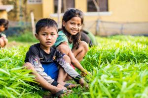 Au Cambodge, l'AEC - Foyer Lataste accompagne les enfants et les familles vers l'alimentation durable!